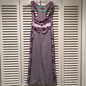 Anthropologie Floral Dress Size Large